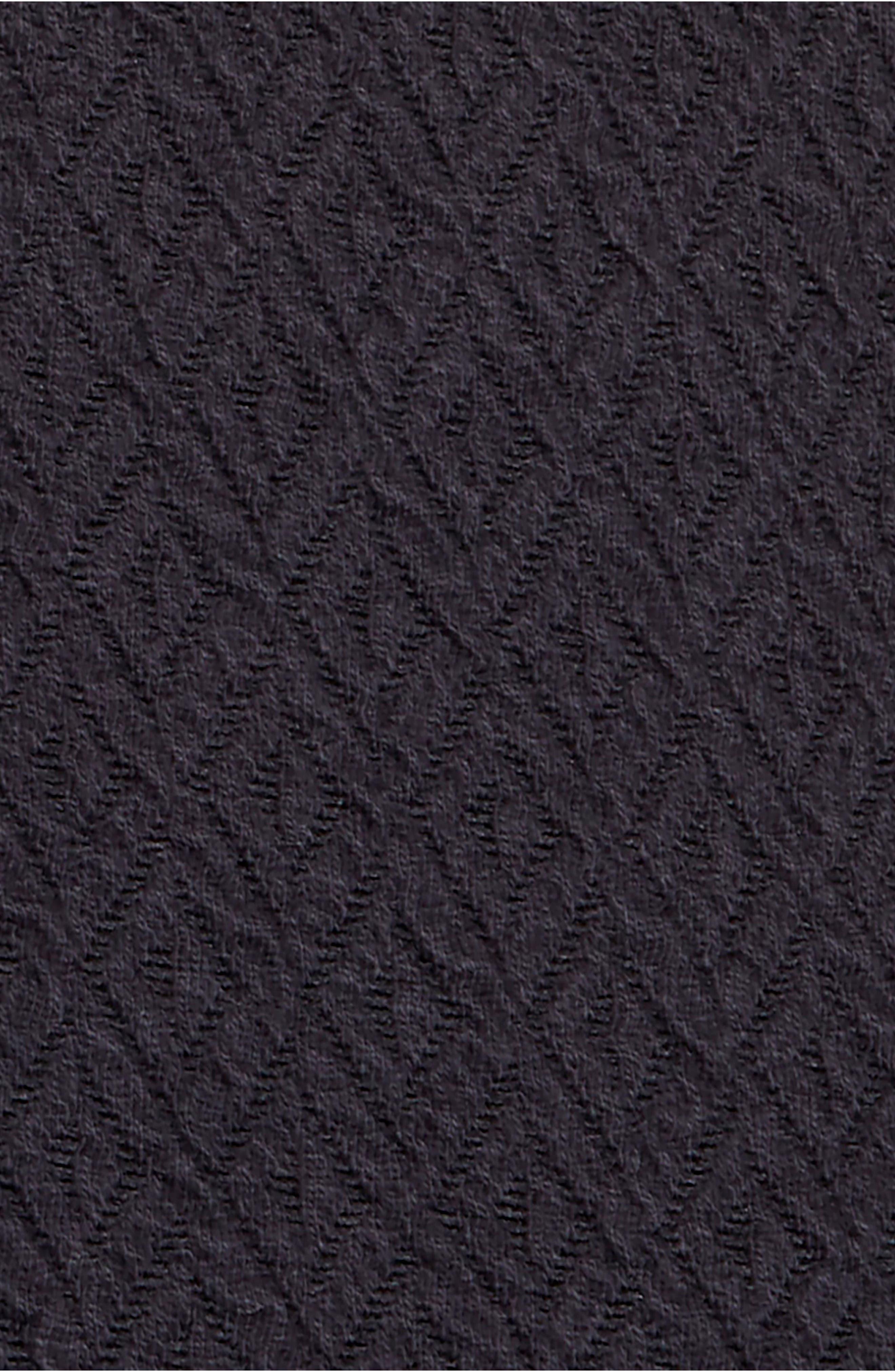 ,                             Easy Street Sleeveless Minidress,                             Alternate thumbnail 5, color,                             BLACK