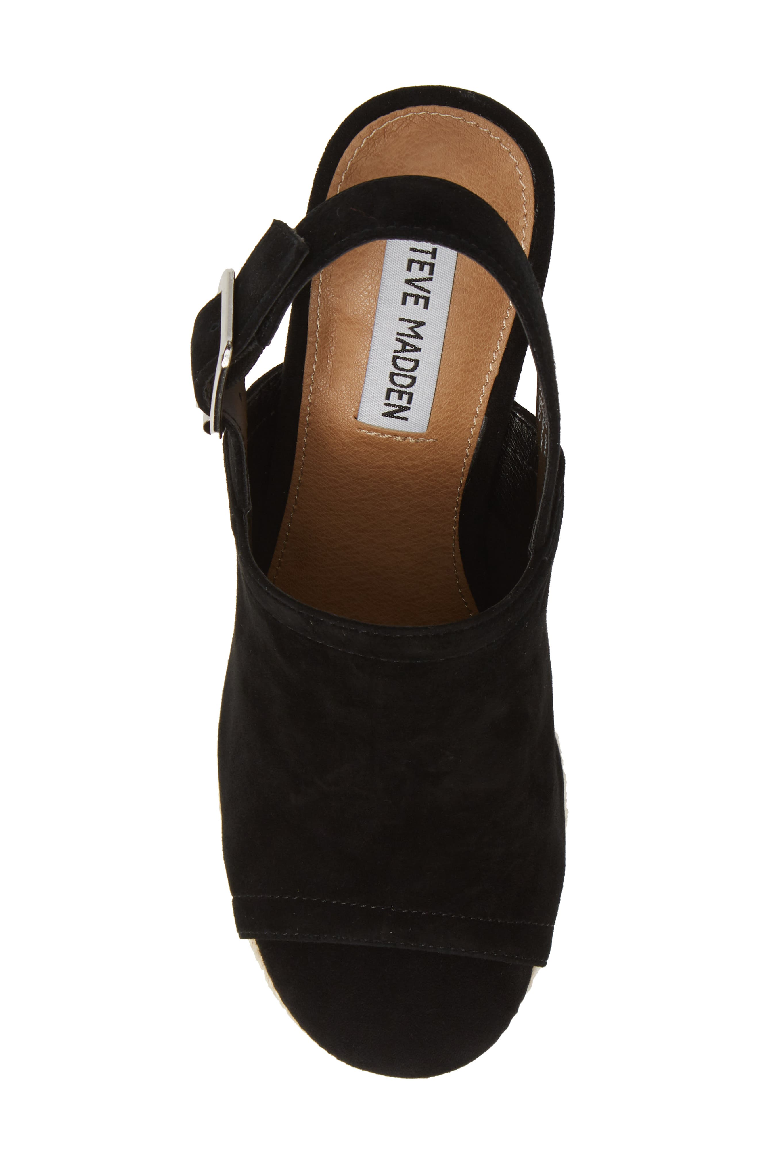 ,                             Giver Espadrille Wedge Sandal,                             Alternate thumbnail 5, color,                             015