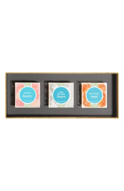 Image of SUGARFINA But First, Cocktails - 3-Piece Candy Bento Box Kit