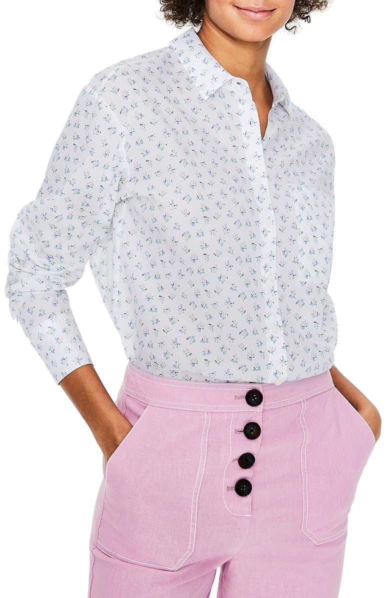 BODEN Audrey Girlfriend Shirt, Main, color, 904