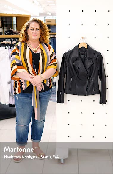 Leather Moto Jacket, sales video thumbnail