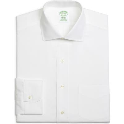 Brooks Brothers Milano Slim Fit Solid Dress Shirt (3 For $207)
