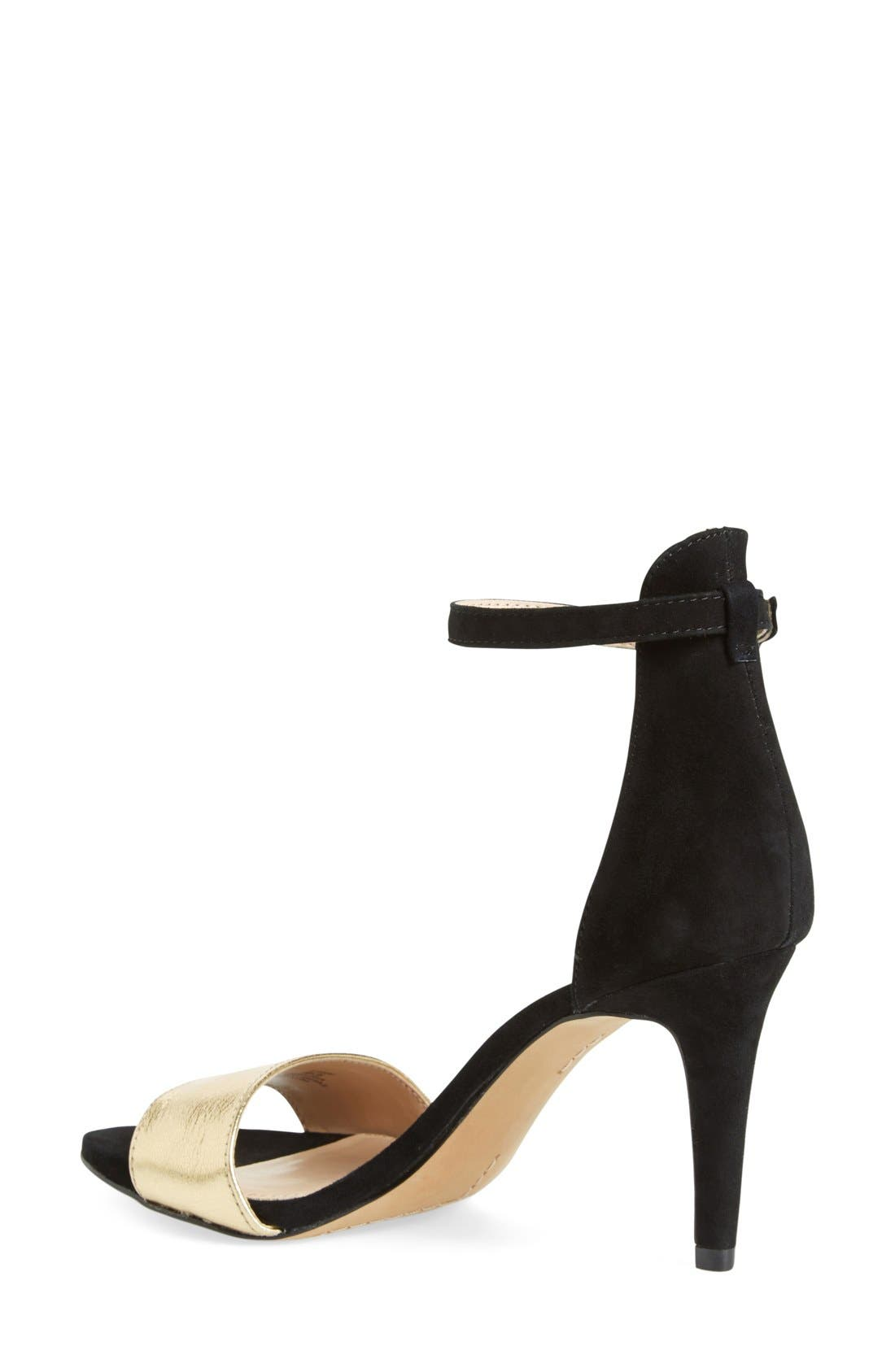 ,                             'Court' Ankle Strap Sandal,                             Alternate thumbnail 10, color,                             002