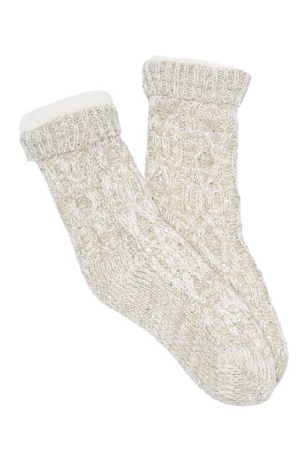 Image of Minx NY Sequin Lounge Shea Butter Infused Socks