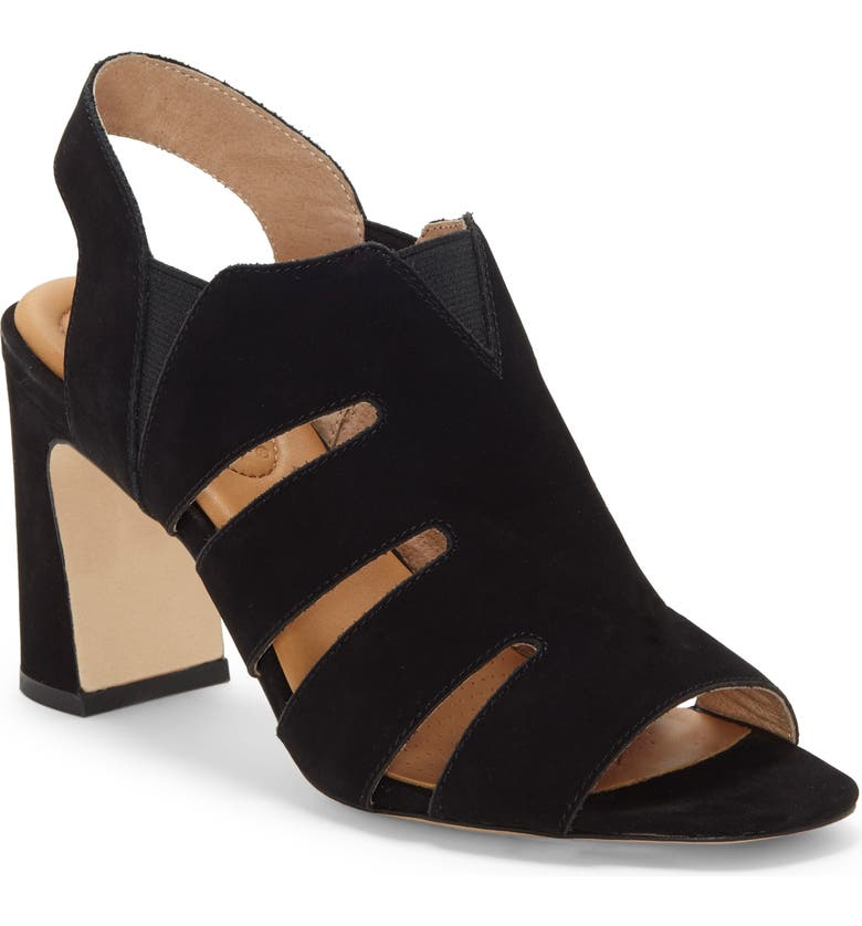 CC CORSO COMO<SUP>®</SUP> Madelina Sandal, Main, color, BLACK NUBUCK LEATHER