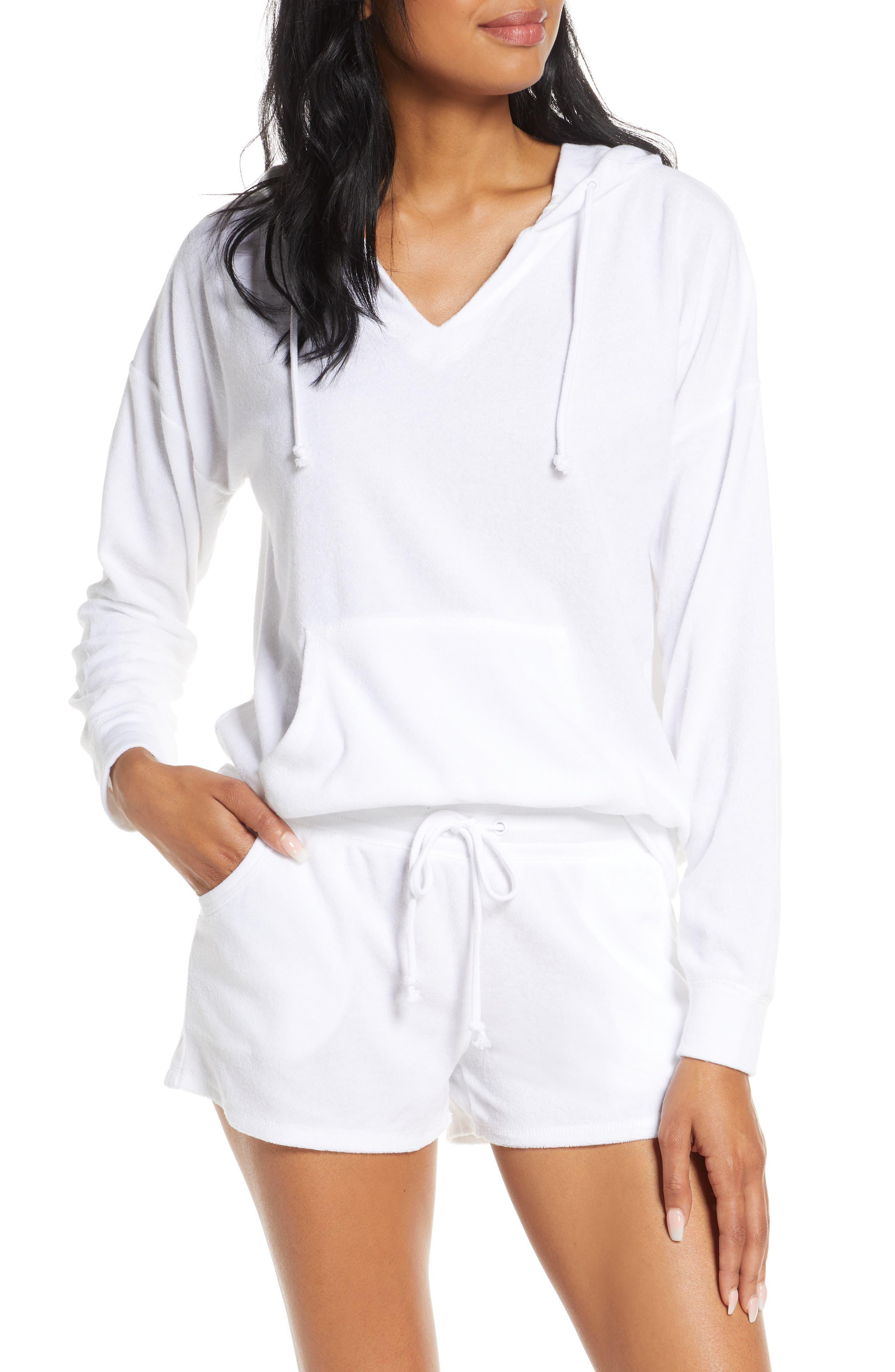 PJ Salvage Hoodie & Shorts Pajamas