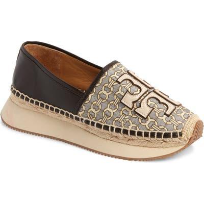 Tory Burch Daisy Stripe Sneaker, Brown