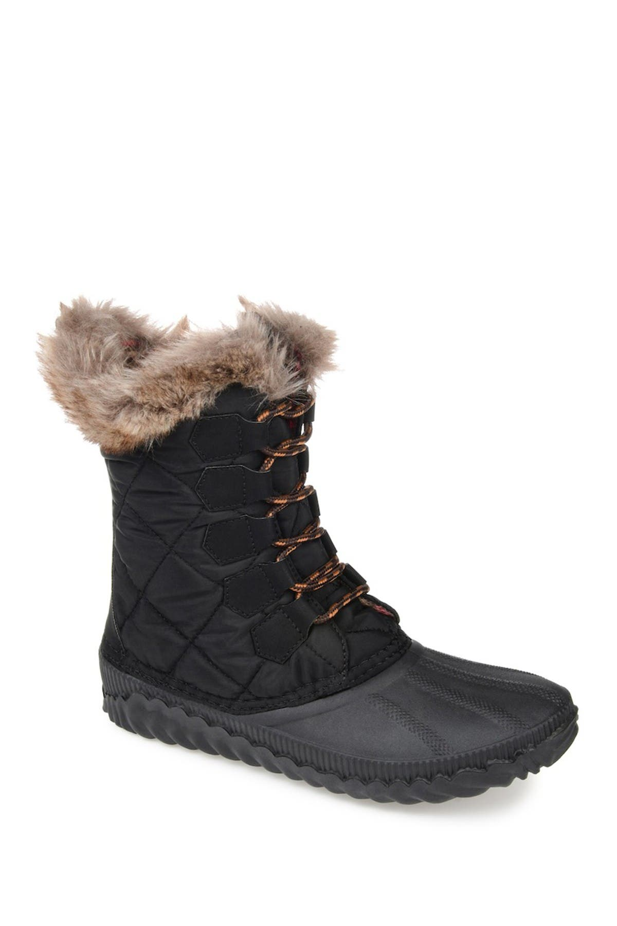 Image of JOURNEE Collection Powder Duck Boot