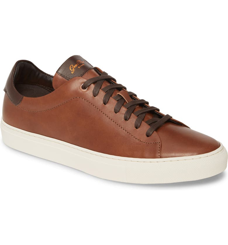 GOOD MAN BRAND Legend Low Top Sneaker, Main, color, DARK VACHETTA