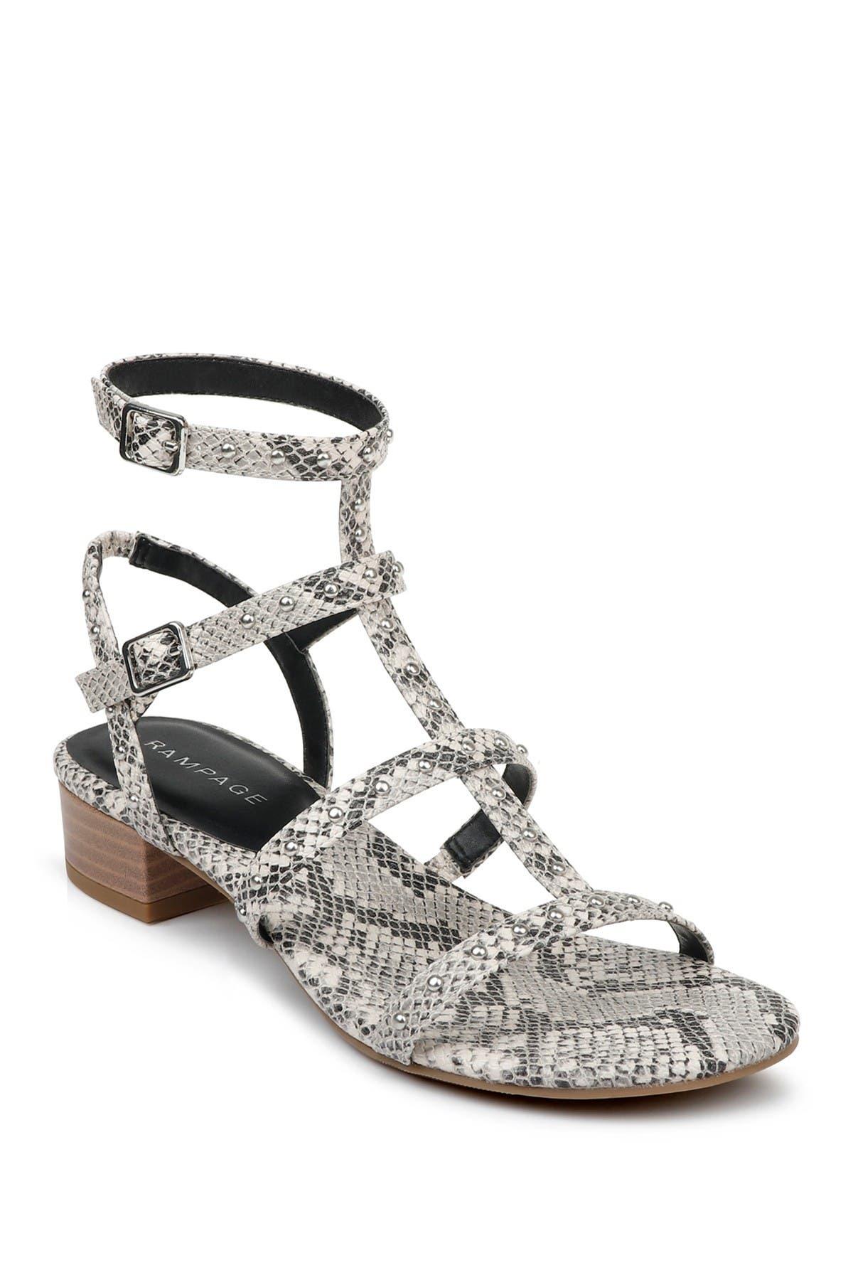 Image of Rampage Carina Strappy Block Heel Sandal
