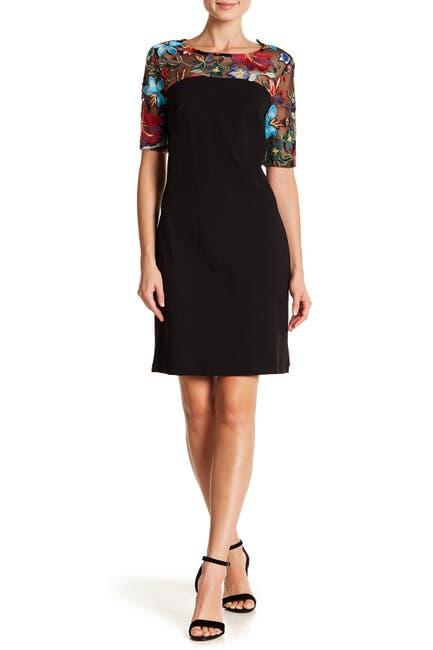 Embroidered Lace Yoke Dress  $8.99 (85% off)
