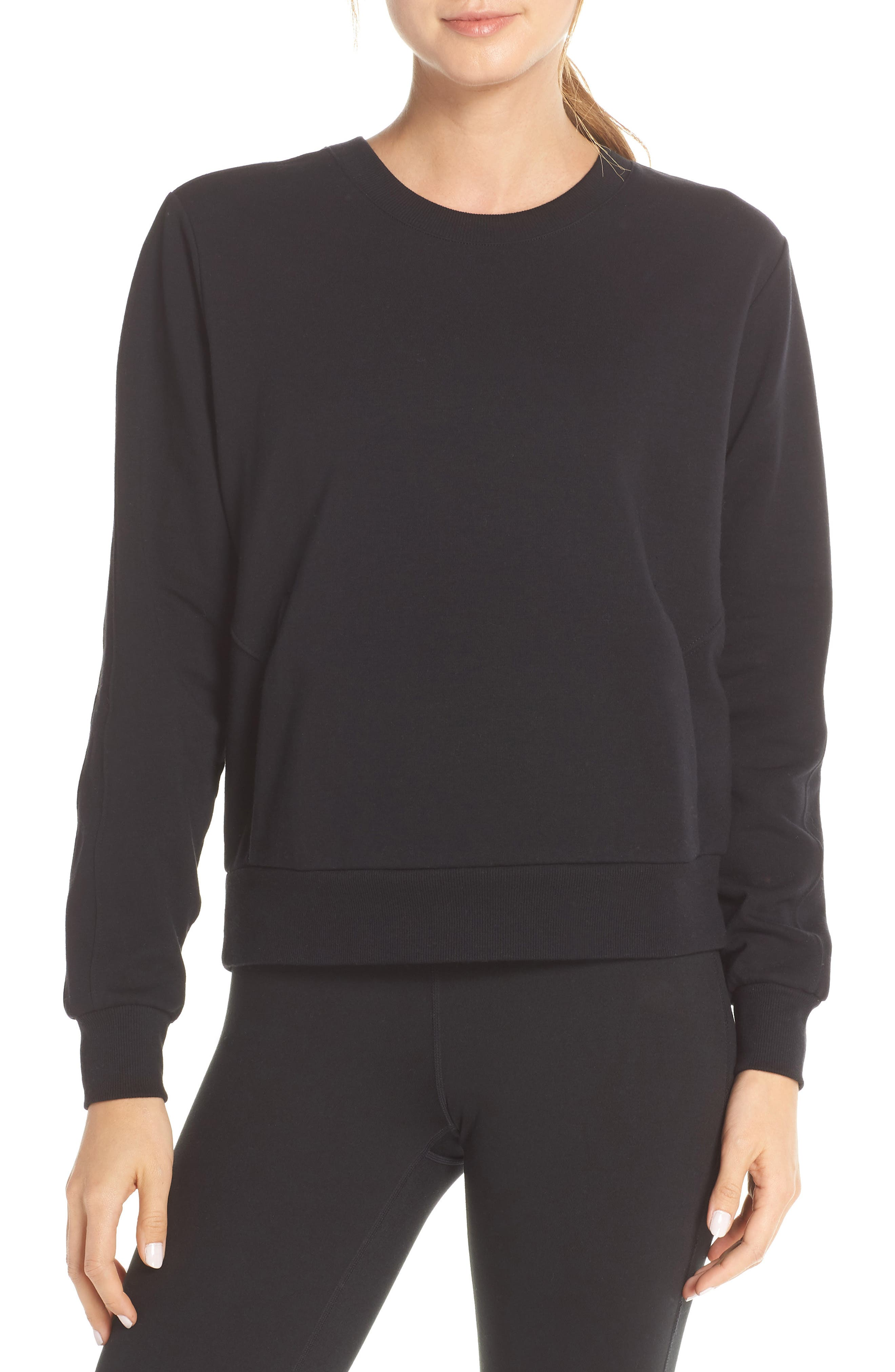 Crewneck Pullover, Main, color, 001