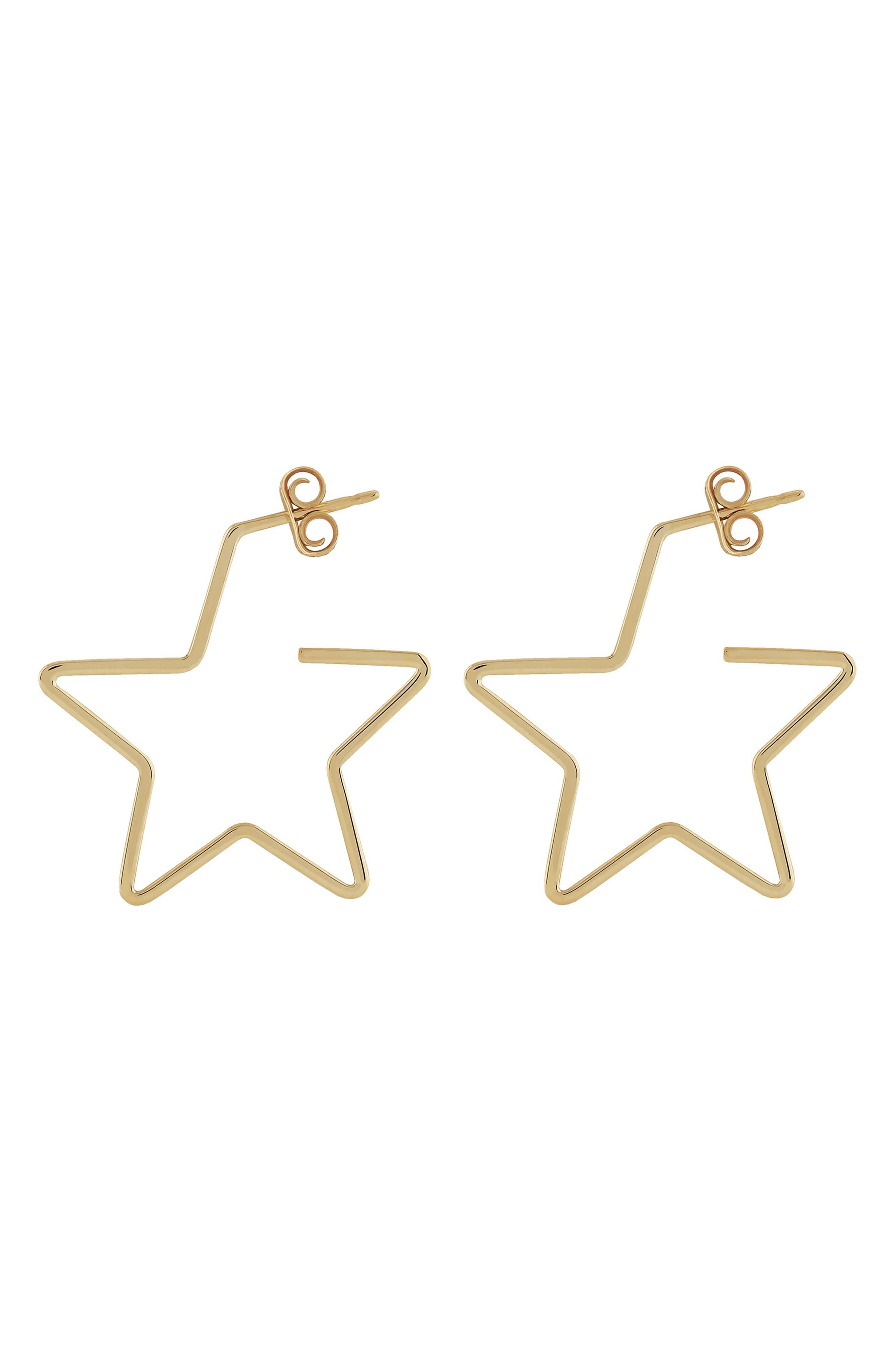 Simple Stars Earrings