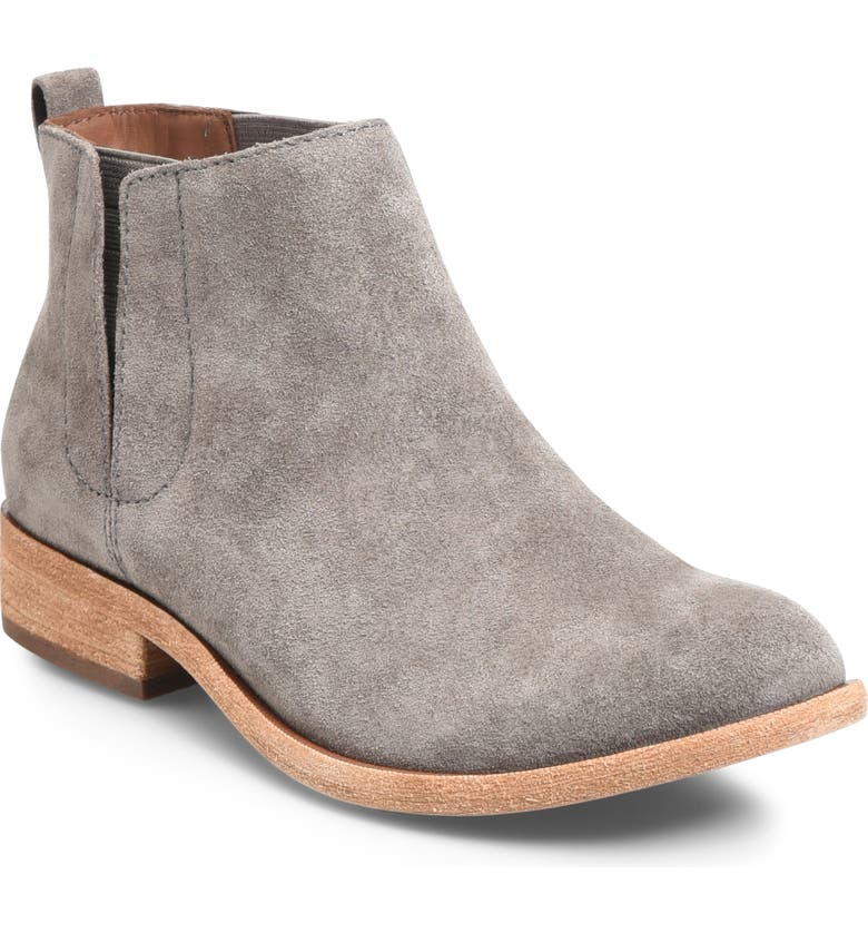 KORK-EASE<SUP>®</SUP> Velma Bootie, Main, color, GREY/ GREY SUEDE