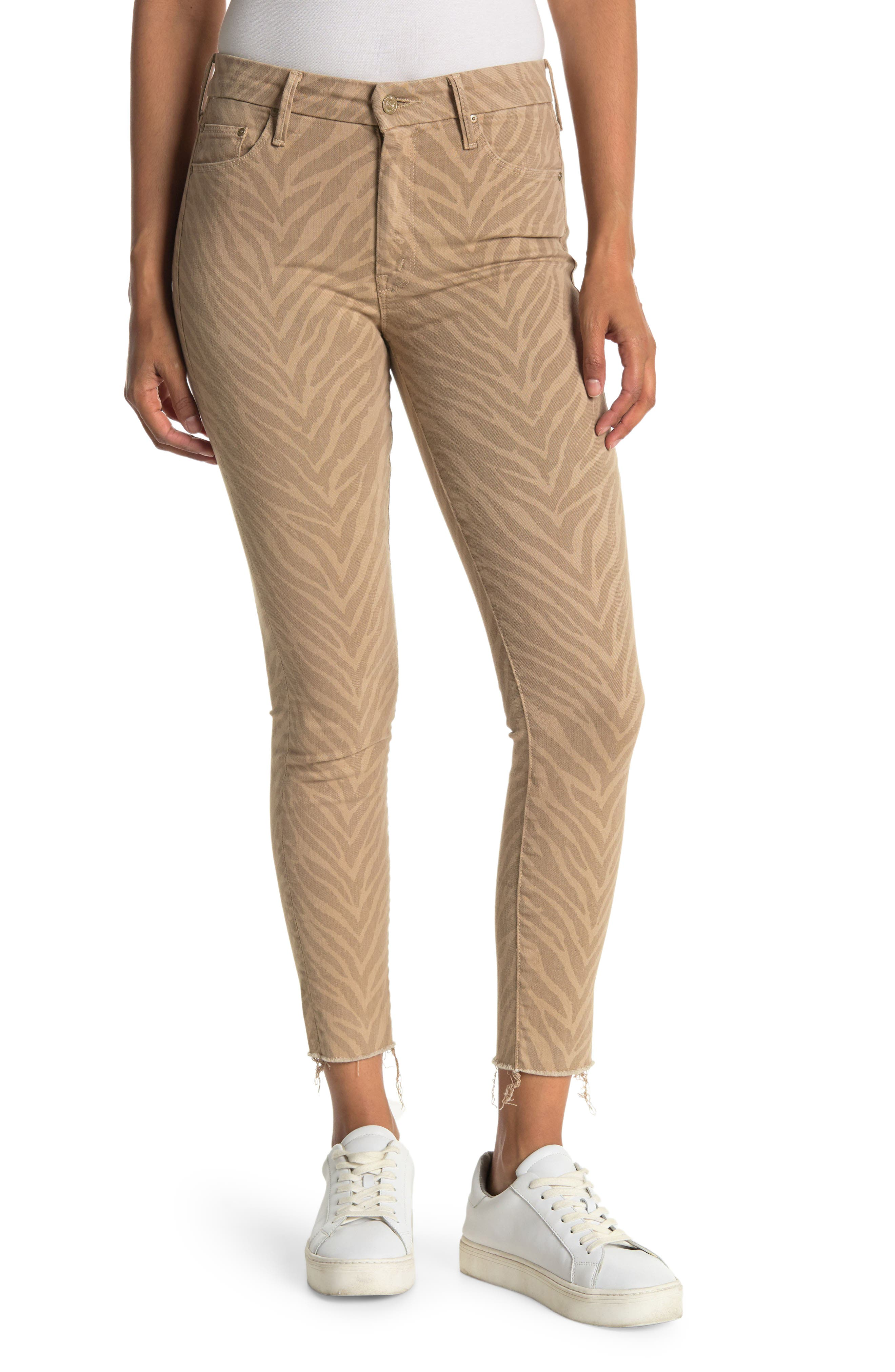 Image of MOTHER The Looker Ankle Fray Skinny Jeans