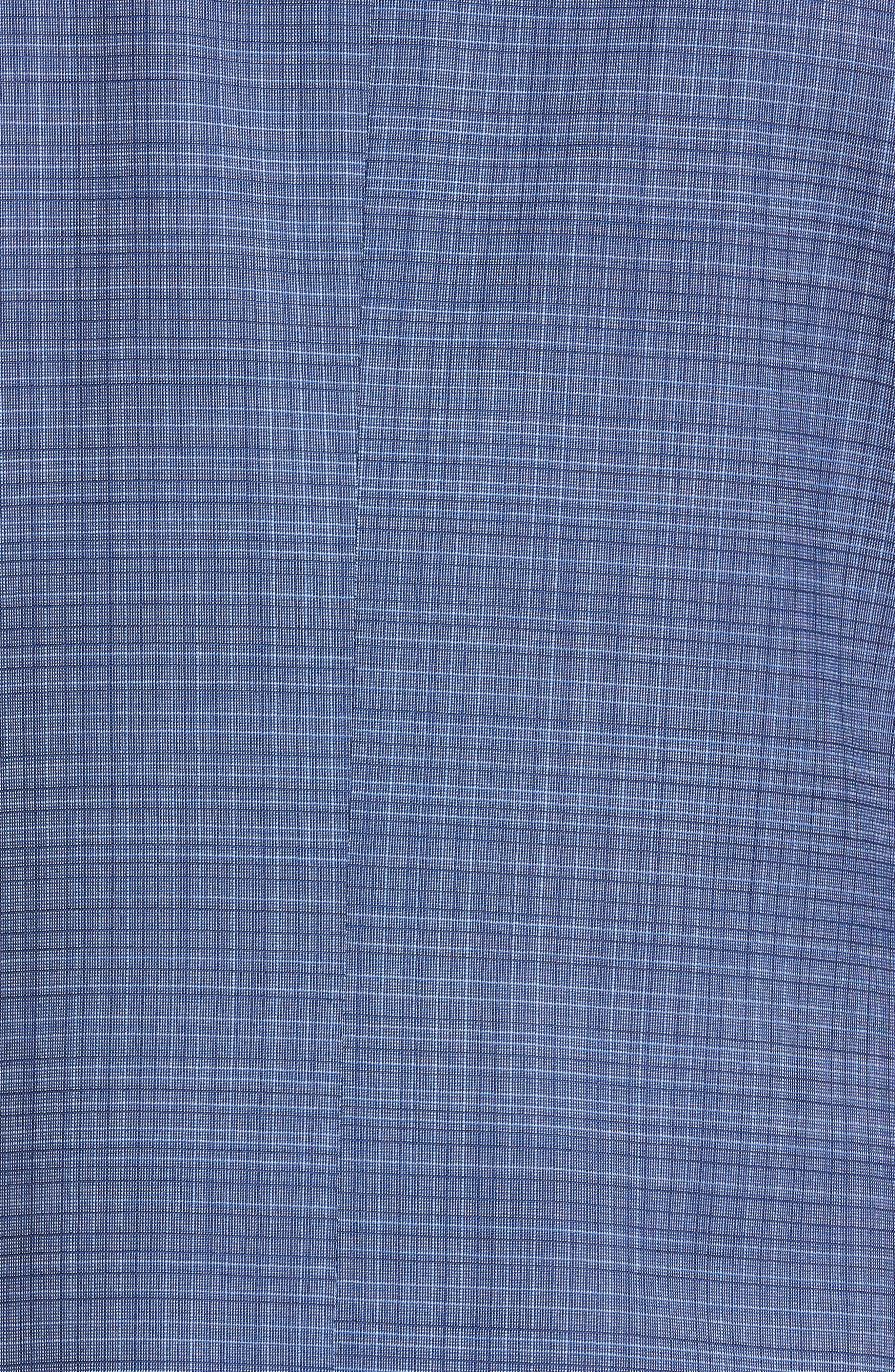 ,                             Milano Classic Fit Check Wool Suit,                             Alternate thumbnail 7, color,                             BLUE