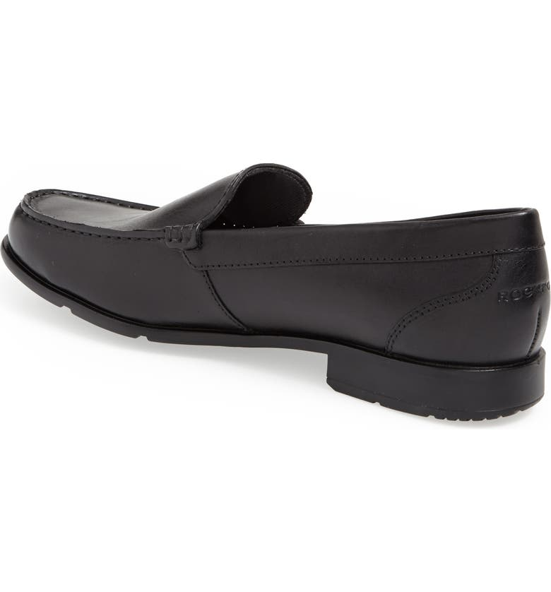 ROCKPORT Classic Venetian Loafer, Main, color, BLACK LEATHER
