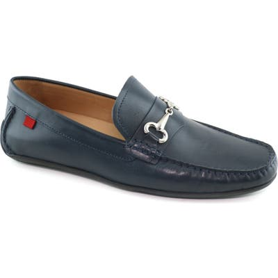 Marc Joseph New York Wall Street Driving Shoe, Blue