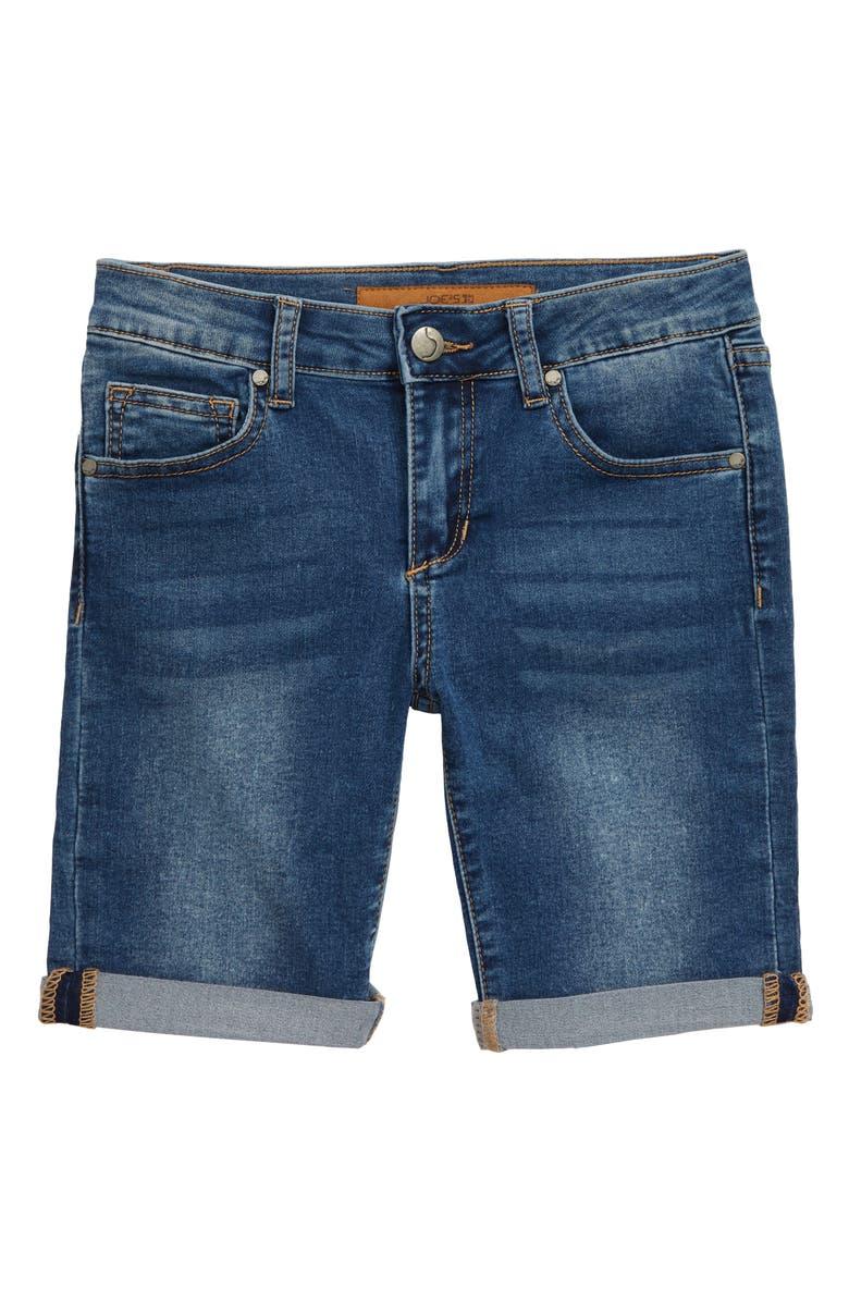 JOE'S The Finn Denim Bermuda Shorts, Main, color, ECHO