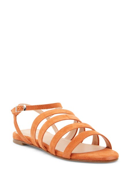 Image of Charles David Stripe Strappy Sandal
