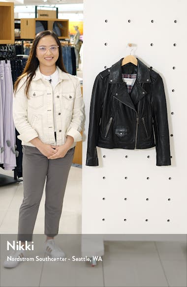 Leather Biker Jacket, sales video thumbnail