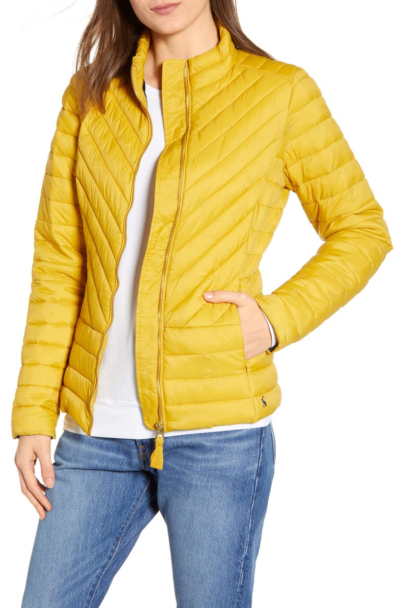 5d0c8097a Elodie Chevron Quilted Jacket