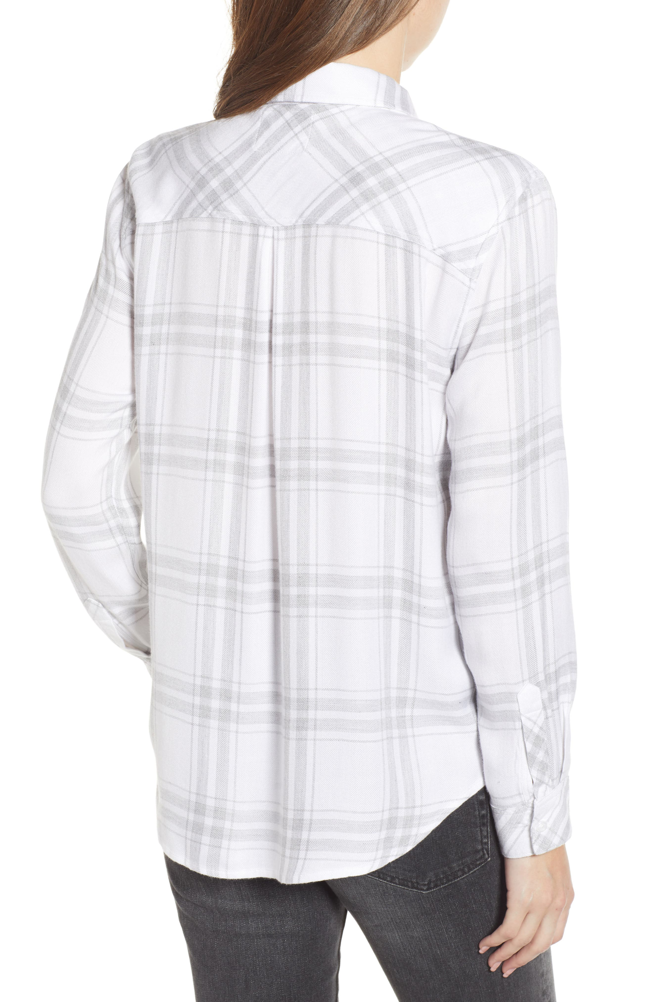 ,                             Hunter Plaid Shirt,                             Alternate thumbnail 300, color,                             198