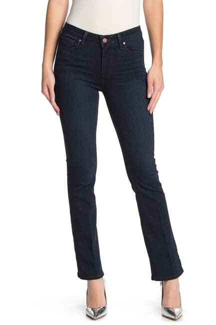 Image of PAIGE Manhattan High Rise Bootcut Jeans