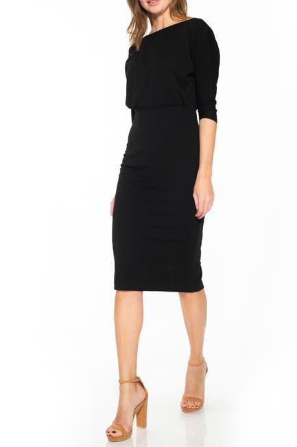 Image of Alexia Admor Paris Dolman Sleeve Sheath Dress