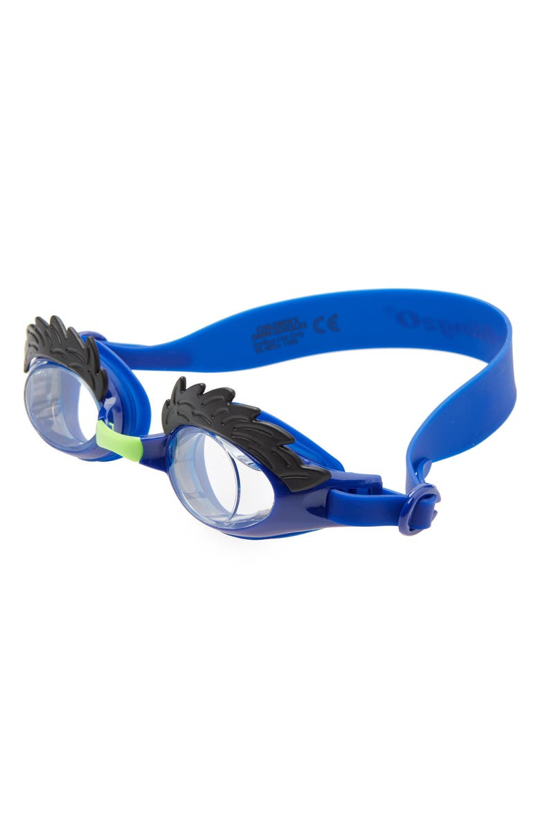 BLING2O Uncle Hairy Swim Goggles, Main, color, BLUE