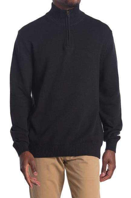 Image of RODD AND GUNN Quarter Zip Knit Sweater