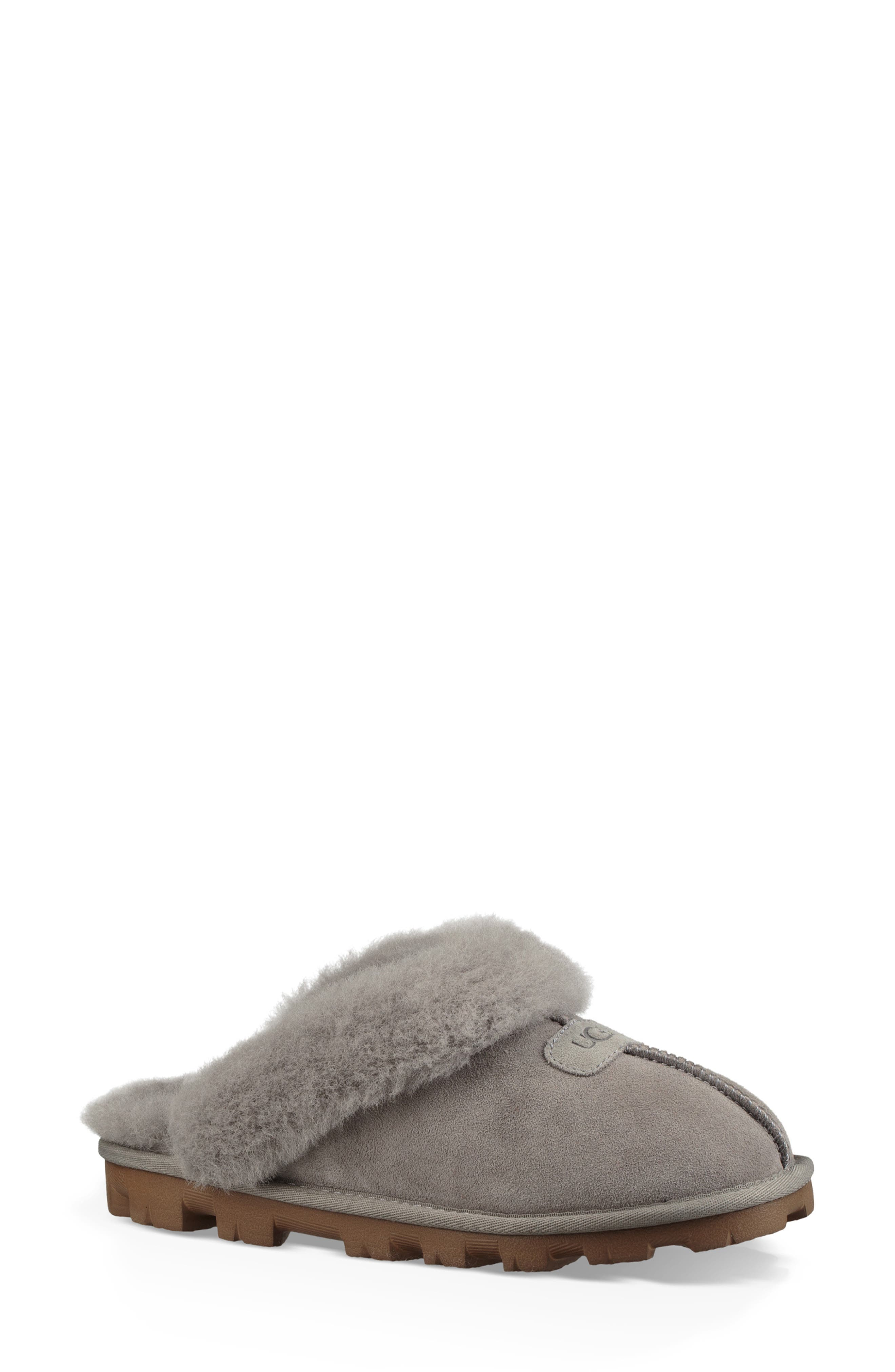 ,                             Genuine Shearling Slipper,                             Main thumbnail 53, color,                             024