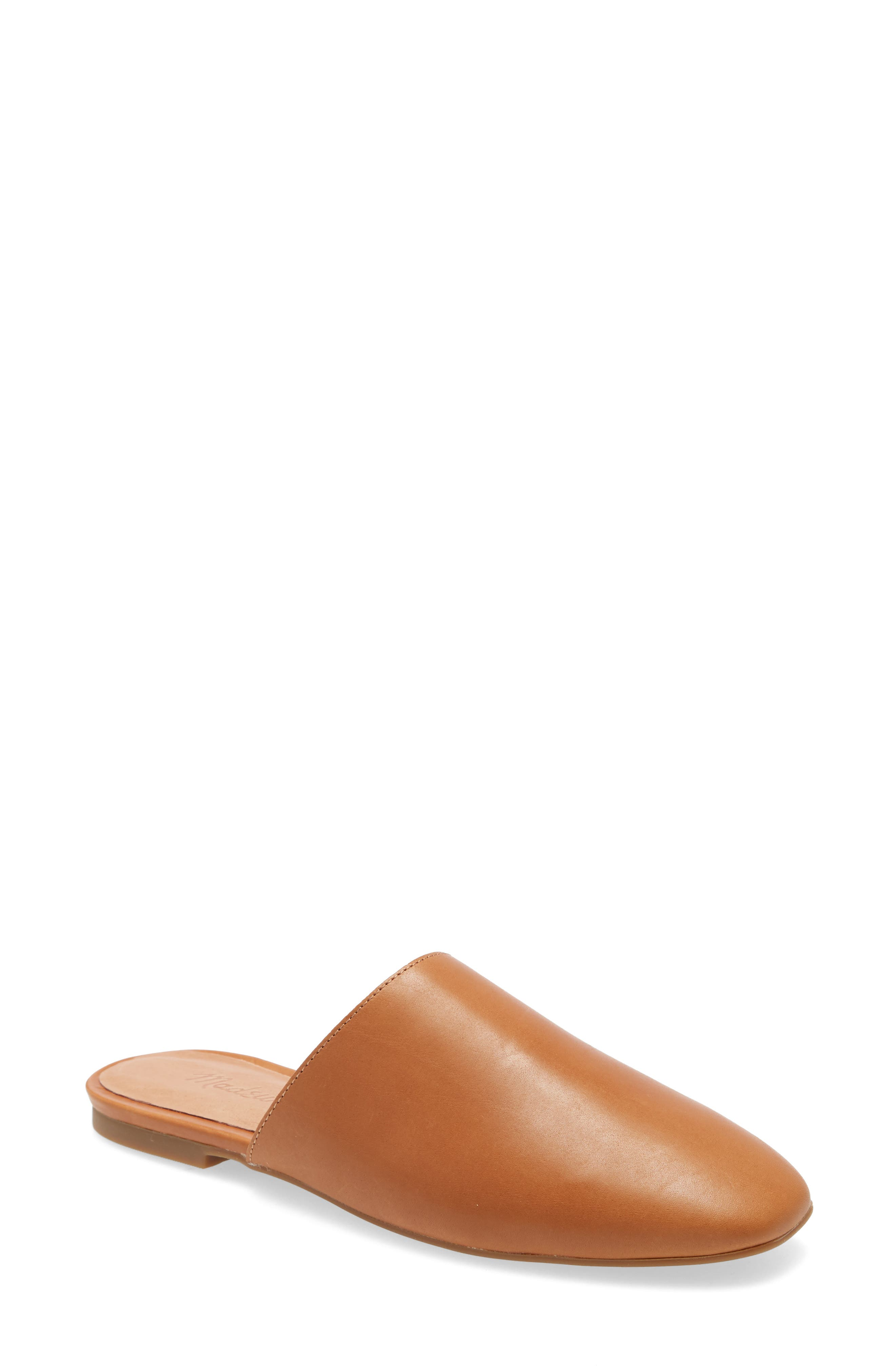 A slip-on version of Madewell\\\'s favorite minimalist flat, this modern mule has a squared-off shape we love. So easy to slide on (and off), this mule has that effortless cool-girl energy. And, cushiness alert: the MWL Cloudlift Lite padding feels like walking on a-well, you know. Style Name: Madewell The Cory Mule. Style Number: 5986472. Available in stores.