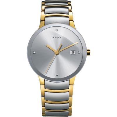 Rado Centrix Diamond Bracelet Watch,