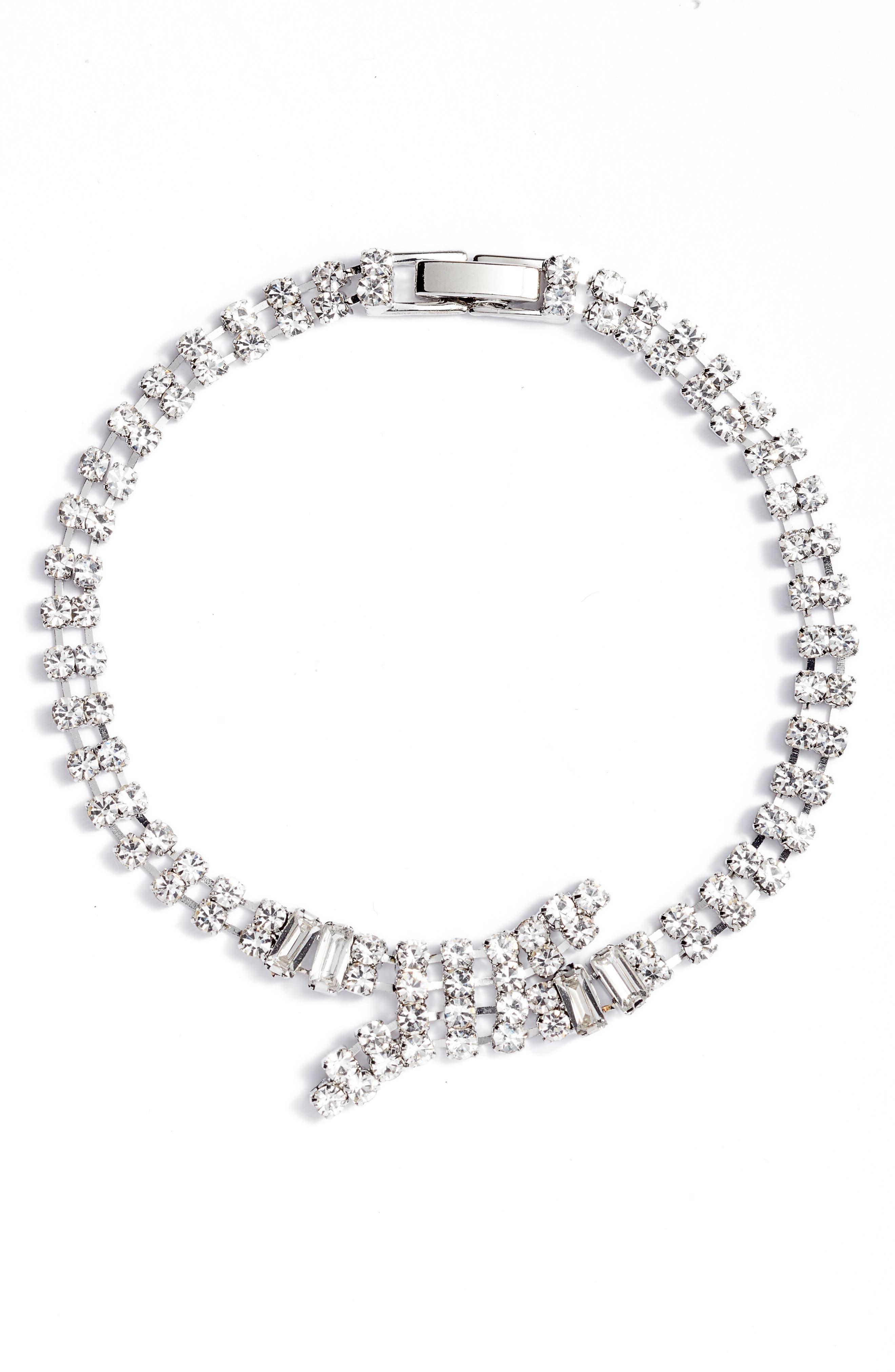Crisscross Line Bracelet