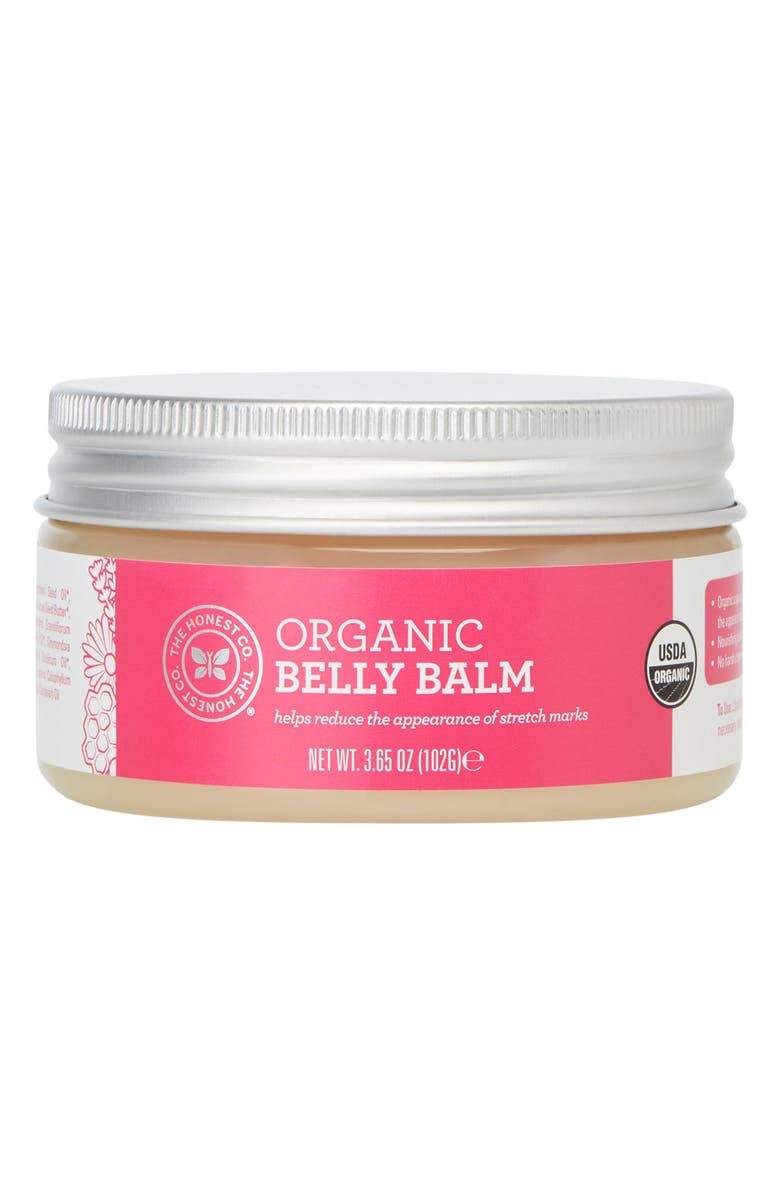 THE HONEST COMPANY Organic Belly Balm, Main, color, 100