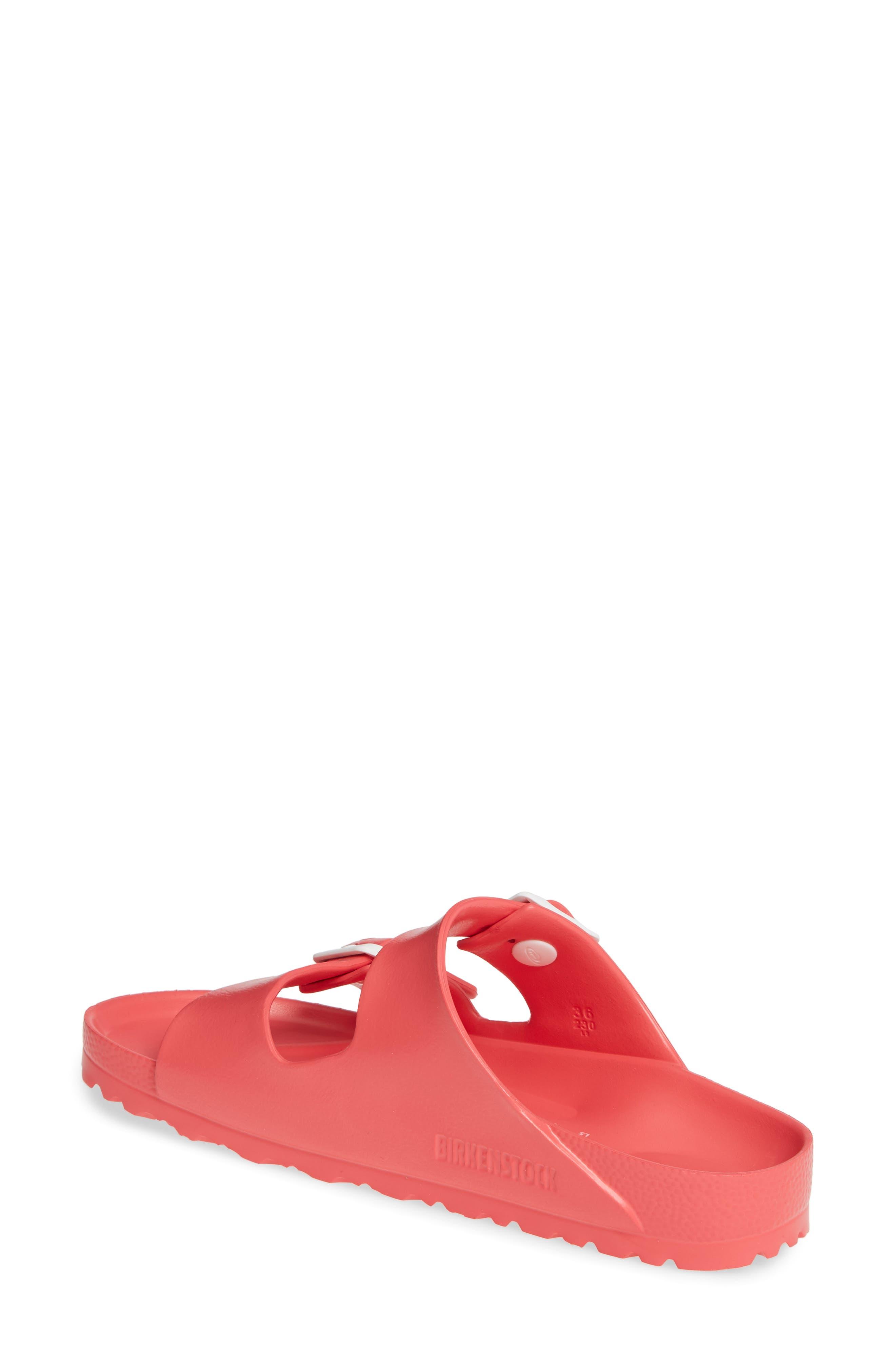 ,                             Essentials - Arizona Slide Sandal,                             Alternate thumbnail 2, color,                             CORAL EVA