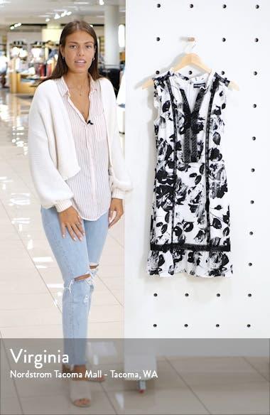 Floral Print Sleeveless Dress, sales video thumbnail