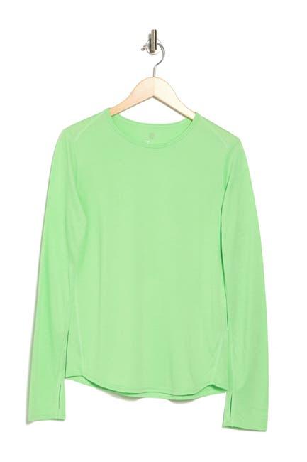 Image of Z By Zella Take A Hike Long Sleeve Knit T-Shirt