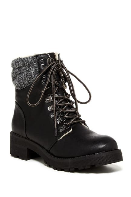 Image of MIA Maylynn Faux Shearling Lined Boot