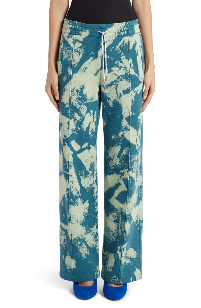 OFF-WHITE Tie Dye Track Pants, Main, color, GASOLINE NO COLOR
