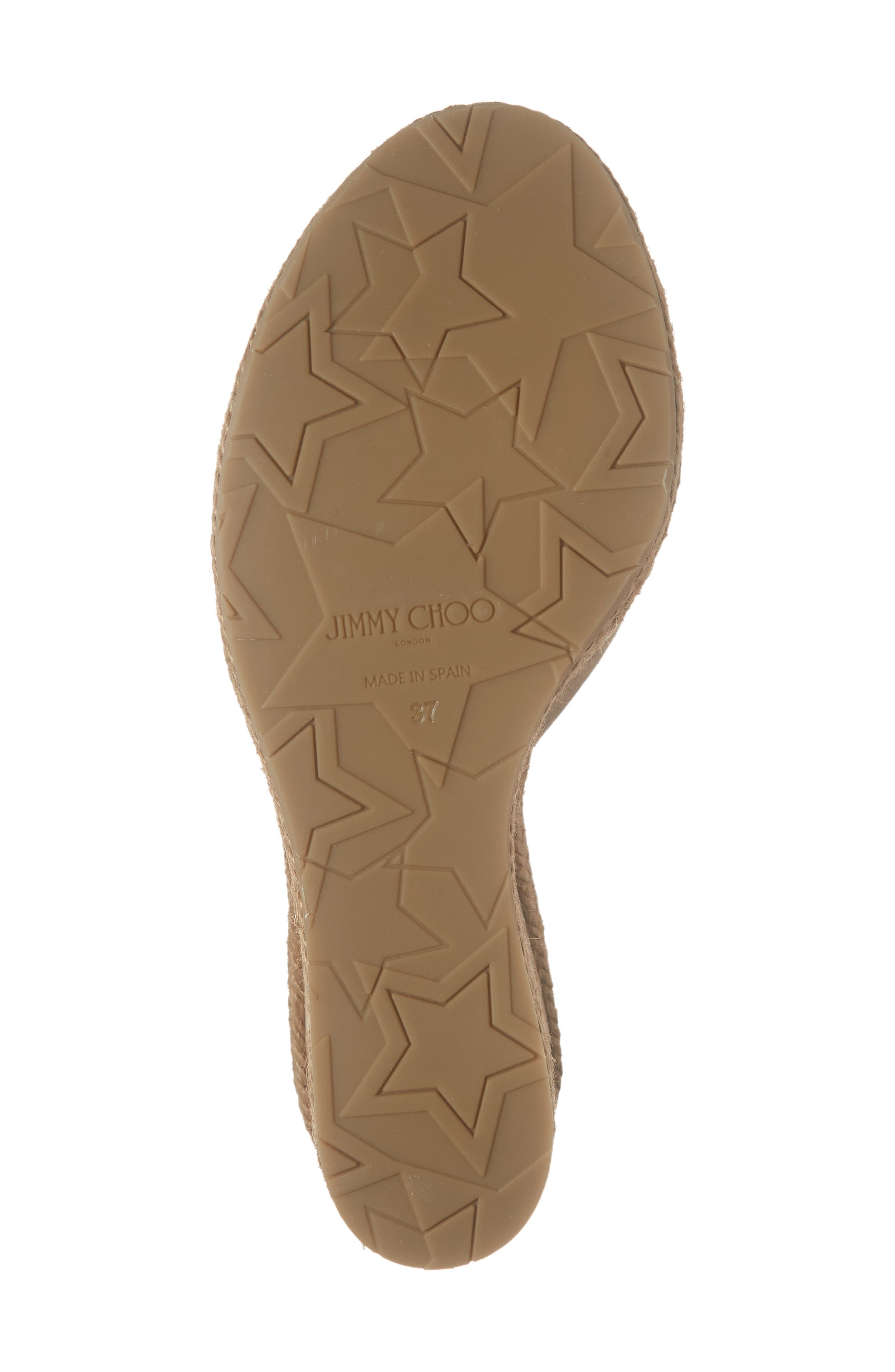 ,                             Almer Cork Wedge Sandal,                             Alternate thumbnail 6, color,                             NUDE SUEDE