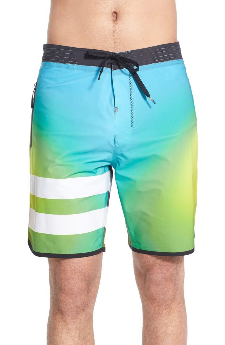 HURLEY 'Phantom JJF 2 Elite' Scallop Board Shorts, Main, color, 433