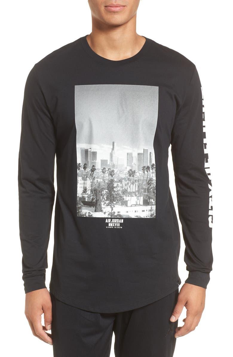 2d1490dea05 Nike Jordan City of Flight T-Shirt, Main, color, 010