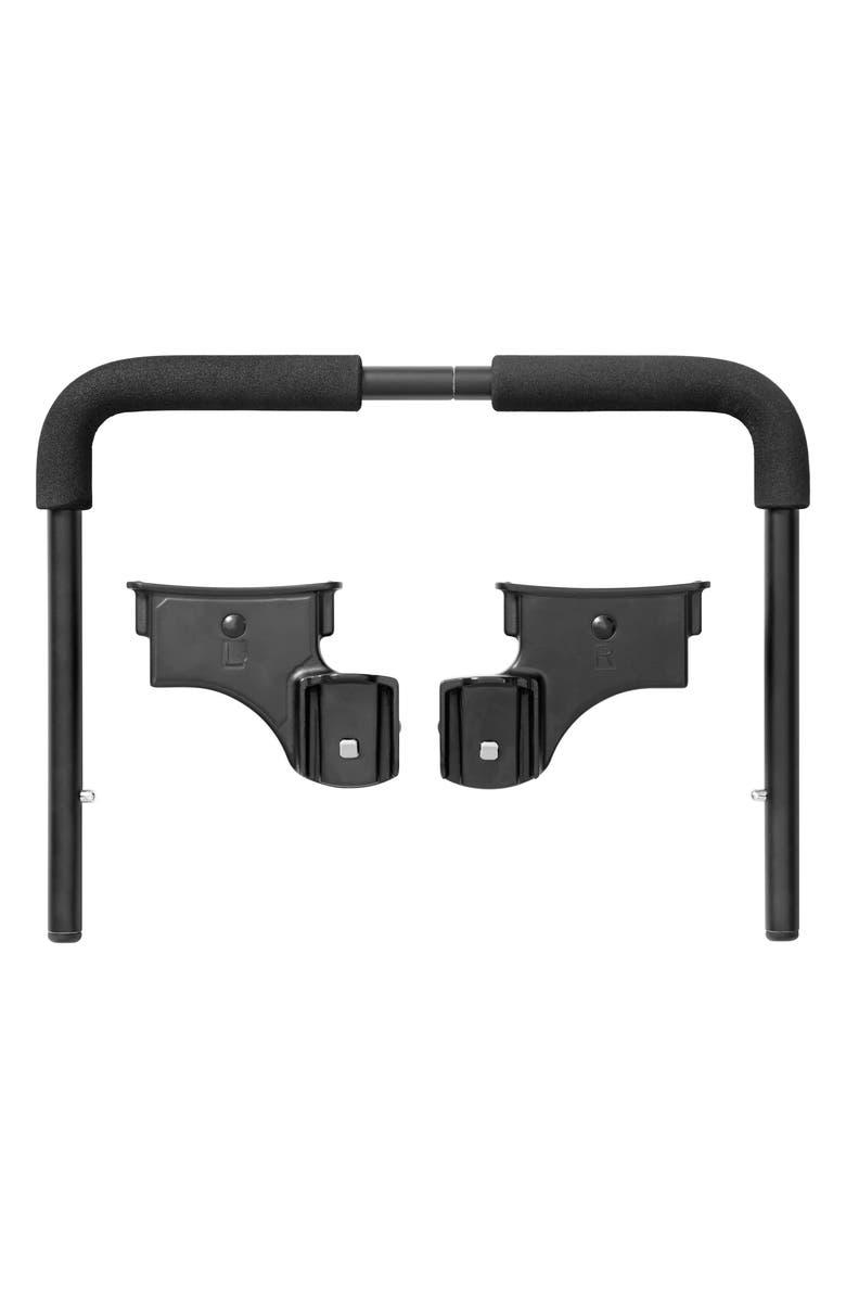 BABY JOGGER Single City Select<sup>®</sup>/City Select<sup>®</sup> LUX/City Premier<sup>™</sup> Stroller to Britax Car Seat Adapter, Main, color, BLACK
