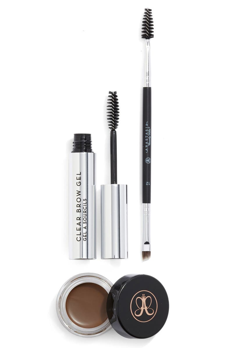 ANASTASIA BEVERLY HILLS 'Brow Studio' Set, Main, color, DARK BROWN