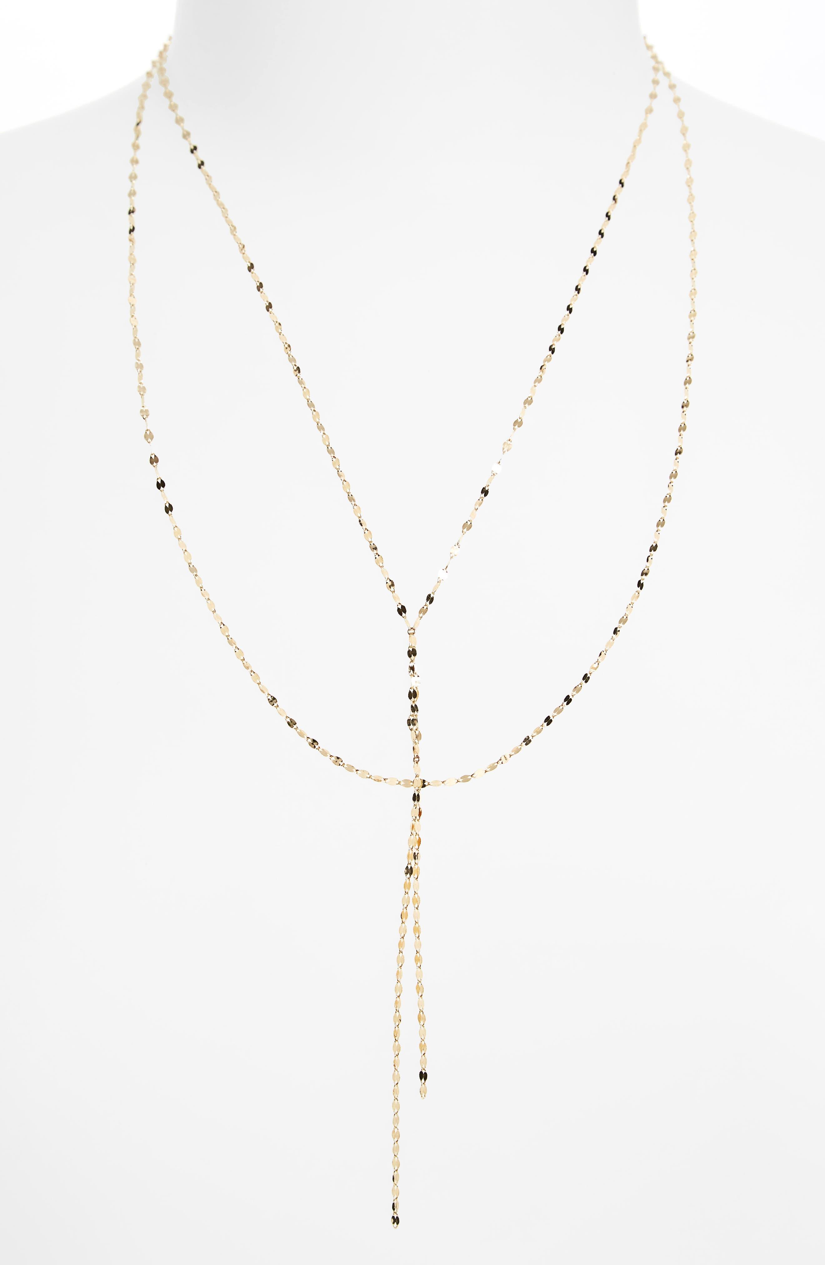 'Blake' Lariat Necklace