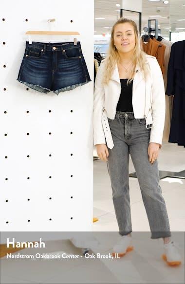 Lenox Cutoff Denim Shorts, sales video thumbnail