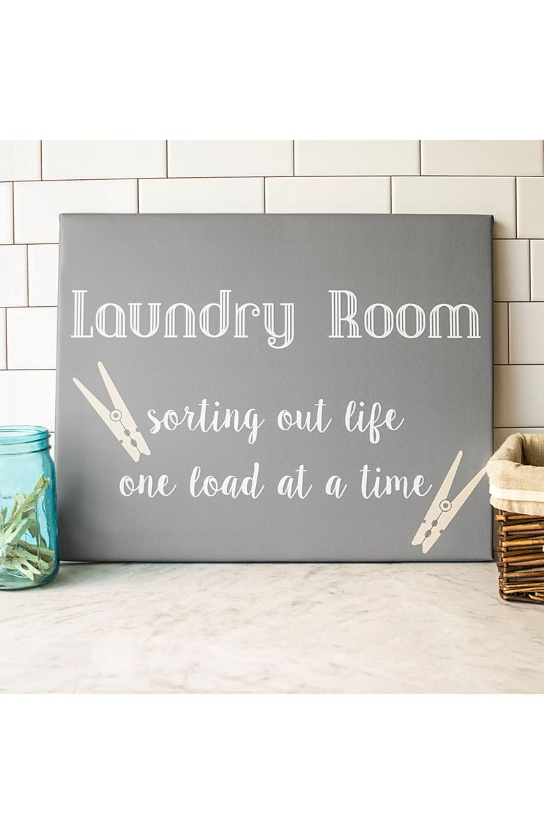 CATHY'S CONCEPTS Laundry Room Sign, Main, color, 020