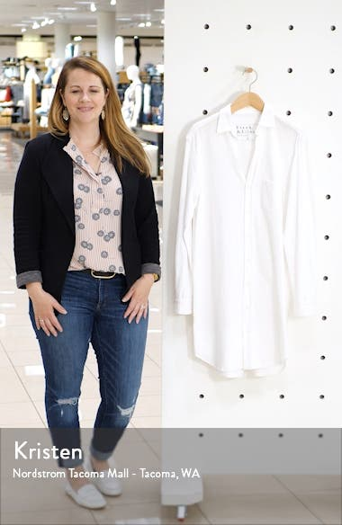 Relaxed Button-Up Shirtdress, sales video thumbnail